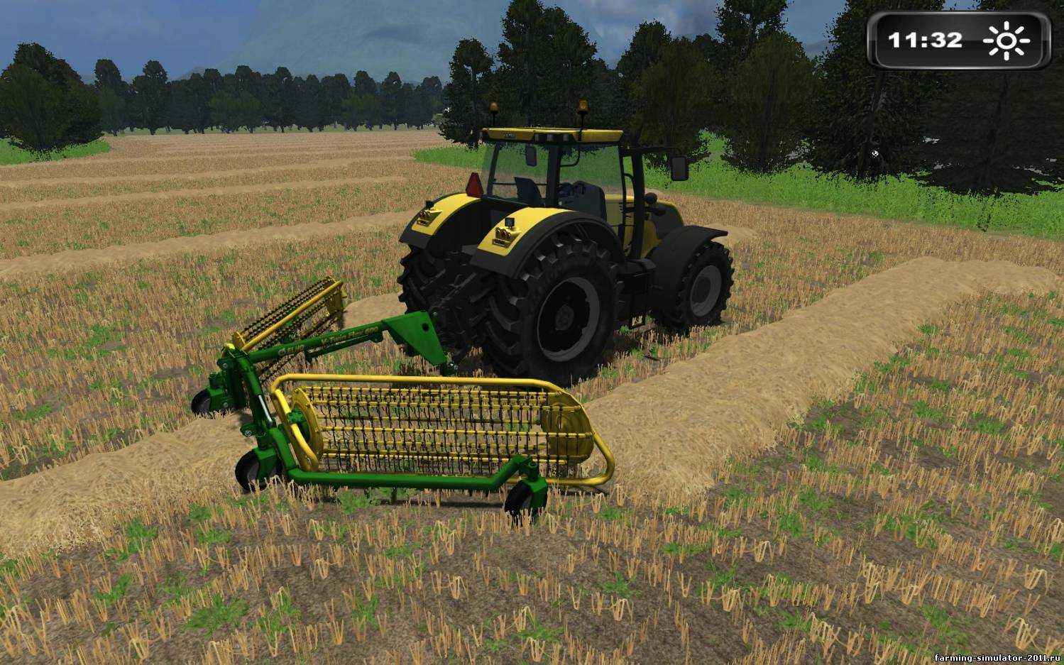 Мод Ehlo V-Twin Flex 600 для игры Farming Simulator 2011
