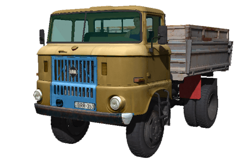 Мод Грузовик IFA W50 барна для игры Farming Simulator 2011