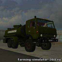Мод Камаз 4310 для Farming Simulator 2011
