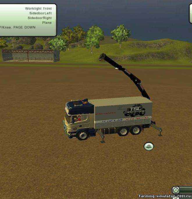 Мод Погрузчик Scania для игры Farming Simulator 2013