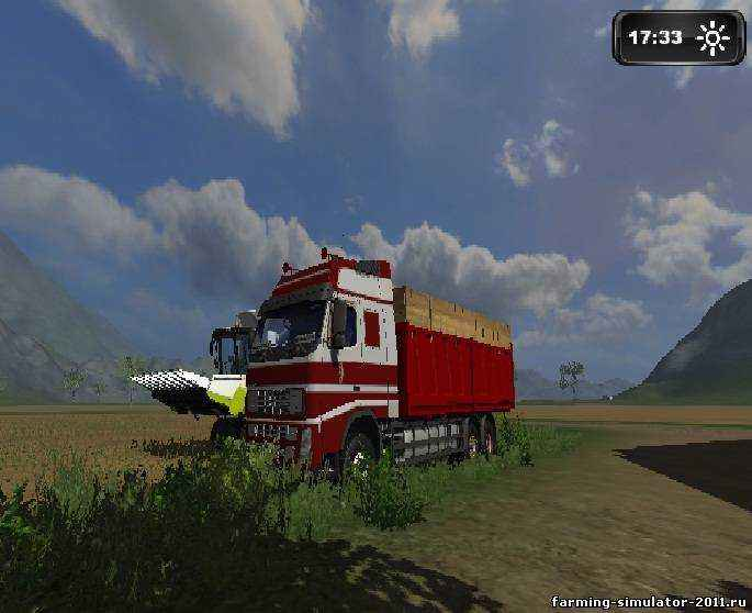 Мод Volvo FH 12 для игры Farming Simulator 2011