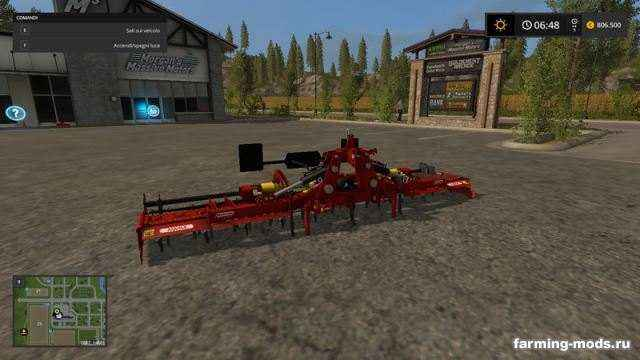 Мод Maschio Aquila 5000 v 1.0 для игры Farming Simulator 2017
