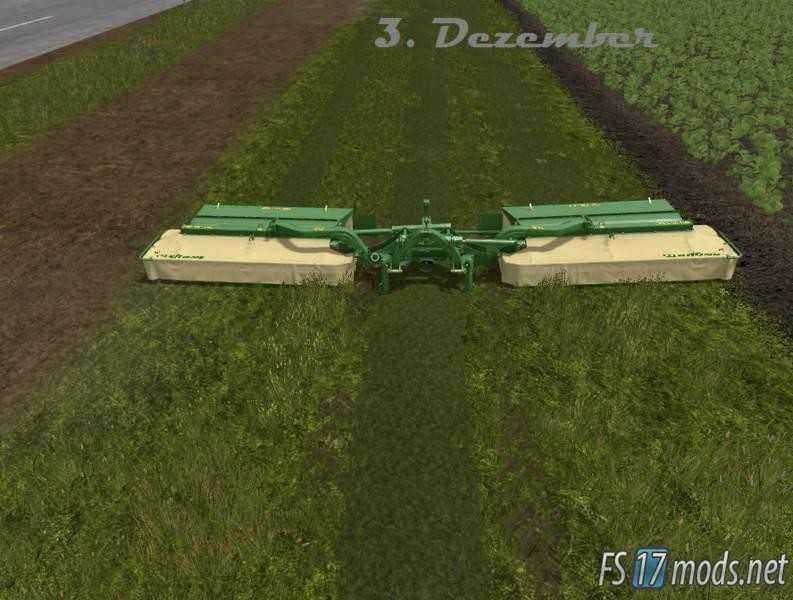 Мод KRONE EASYCUT 9140 для Farming Simulator 2017