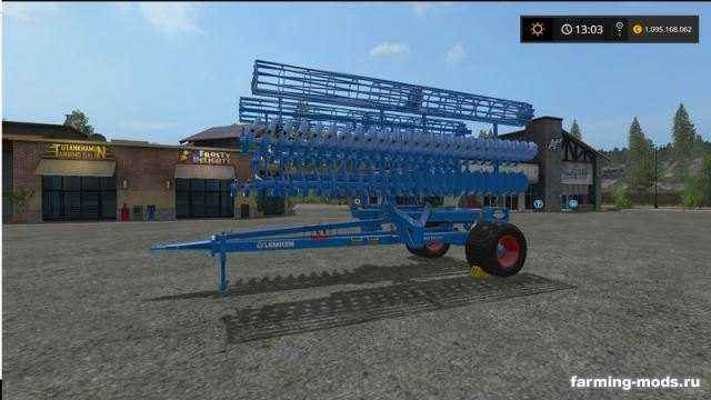 Мод Lemken Gigant 10 v 1.1.0.0 для игры Farming Simulator 2017