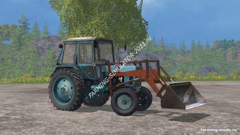 Мод МТЗ 80УК v 2.0 для игры Farming Simulator 2015