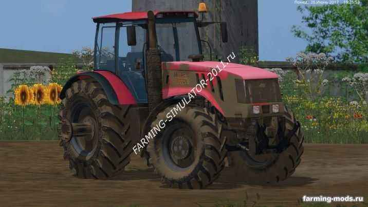Мод МТЗ 3022 ДЦ v 1.0 для игры Farming Simulator 2015