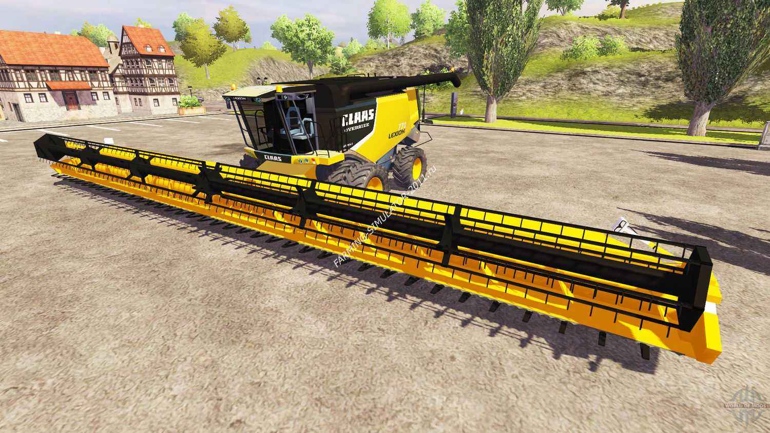 Мод CLAAS Lexion 770 для игры Farming Simulator 2013