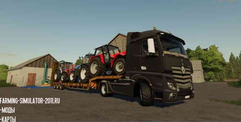 Mercedes Actros MP4 Black