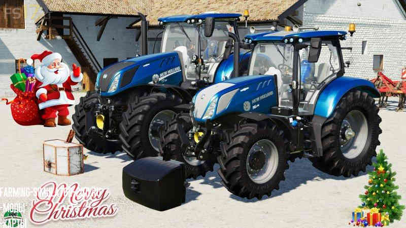NEW HOLLAND T6 BLUE POWER V 1.1