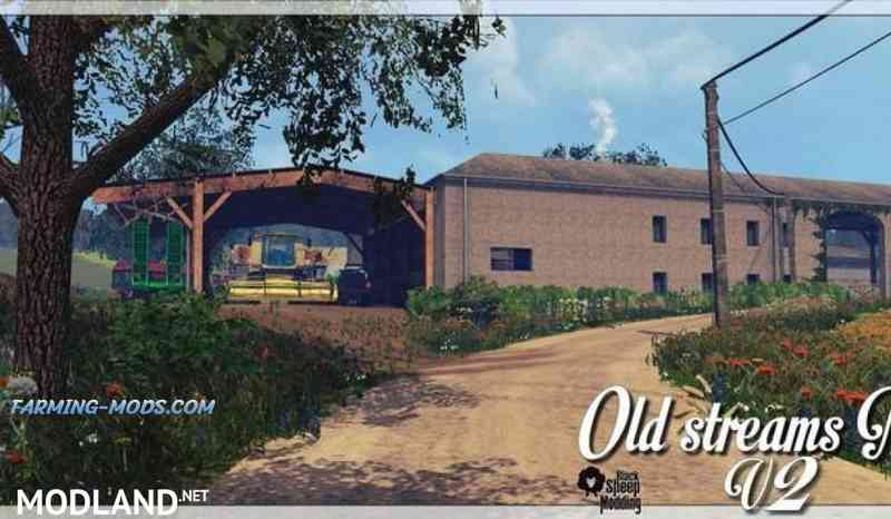 Мод Old Streams Map v 2.0.2 Final GMK для игры Farming Simulator 2017