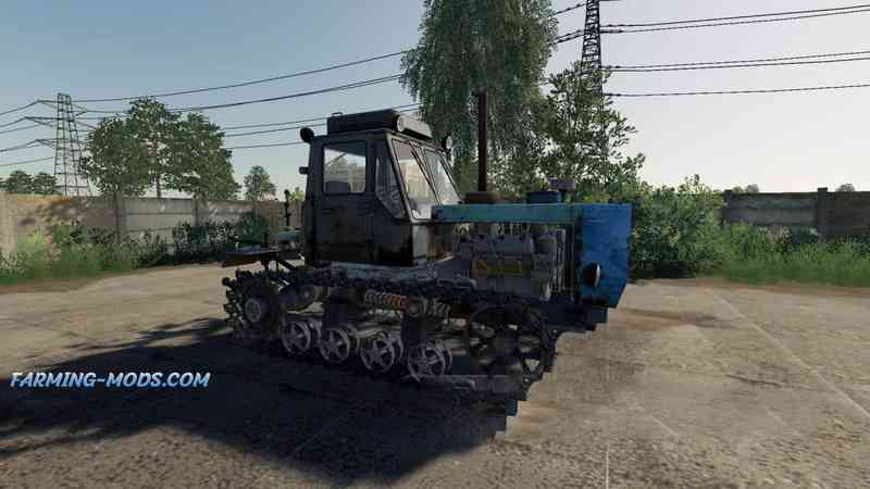 Мод T-150 tracked HTZ v 1.0 для игры Farming Simulator 2019
