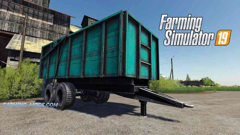 Мод ПТС-10 v1.0 для игры Farming Simulator 2019