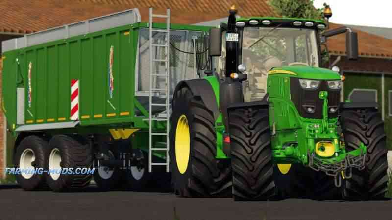 JOHN DEERE 6R PACK BY 6195R POWER OFFICIAL