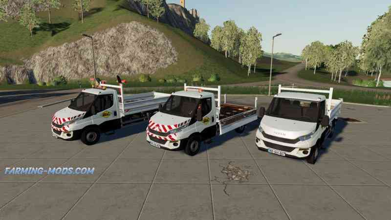 IVECO DAILY BENNE FIXED V1.0