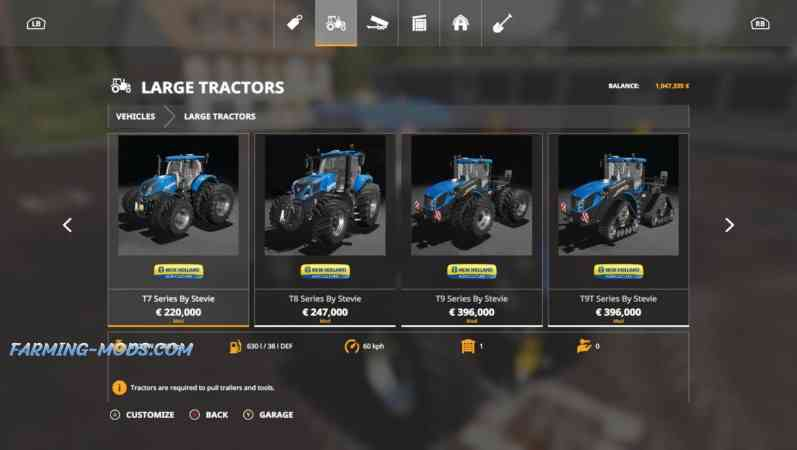 New Holland update pack 16.11.2019 by Stevie