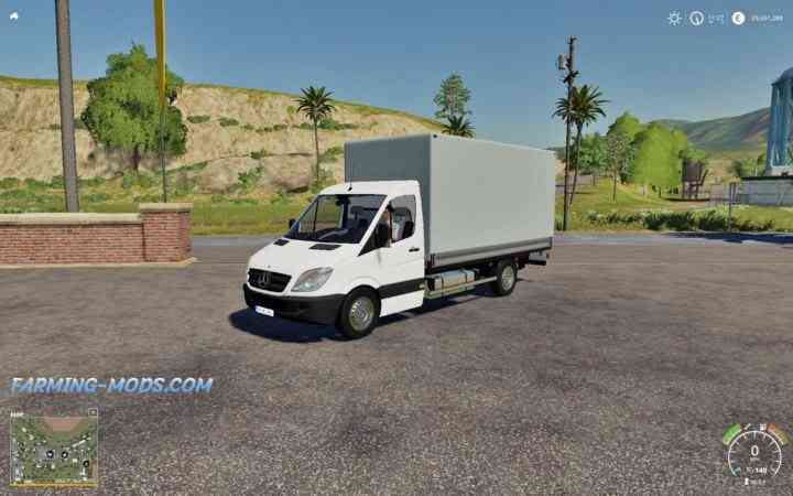 MERCEDES SPRINTER PICKUP V1.0