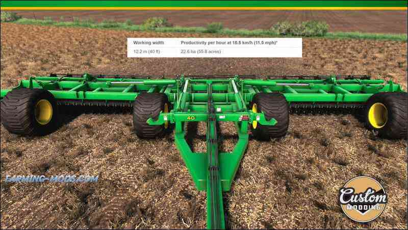 JOHN DEERE 2680H HIGH-PERFORMANCE DISK