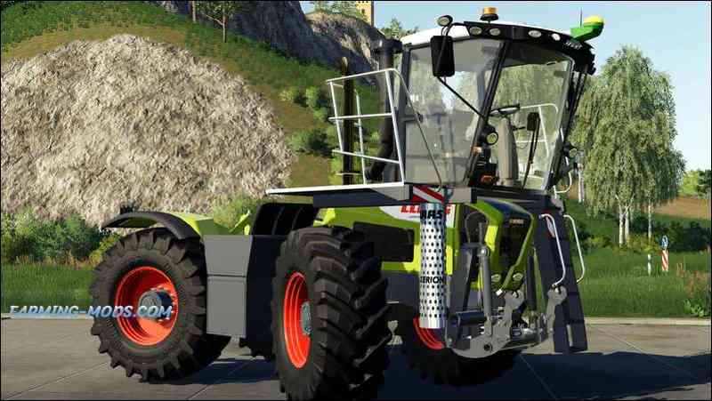 CLAAS XERION 3800 SADDLE TRAC V2.0