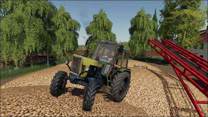 Мод МТЗ-80 v2.0 для игры Farming Simulator 2019