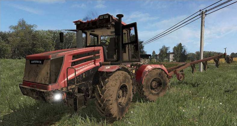 Мод Кировец К-525 V1.0 для игры Farming Simulator 2017