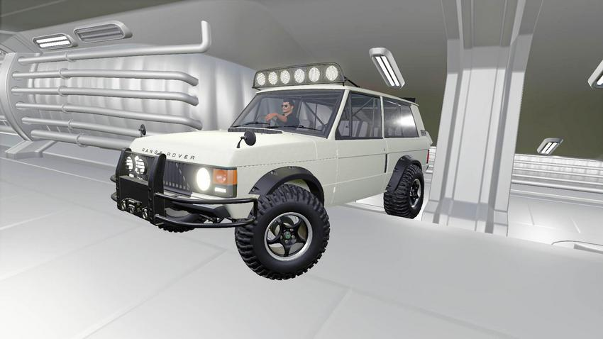 Мод Range Rover 1970 v1.1 для игры Farming Simulator 2019