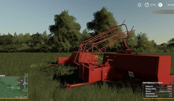 Мод SIPMA Z224 WITH FEEDER V1.0 для игры Farming Simulator 2019
