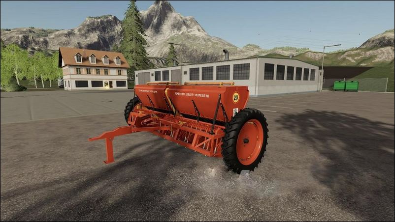 Мод Астра СЗТ 3.6А для игры Farming Simulator 2019