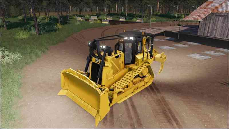 CAT D8-T with TriRipper v1.2